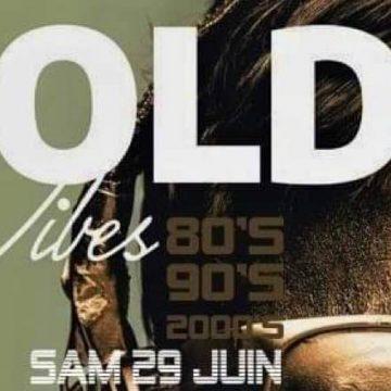 GOLD VIBES – SAMEDI 29 JUIN 2019- LE SQUARE