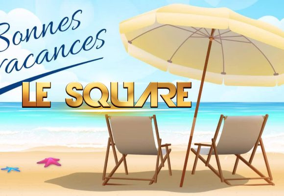 Le square en vacances à partir du 14 juillet au 6 septembre inclus